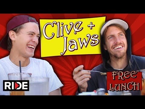 Clive and Jaws Talk About the New Birdhouse Film Saturdays & Clive Turning Pro - Free Lunch