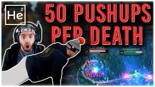 50 PUSHUPS PER DEATH CHALLENGE - Heisendong