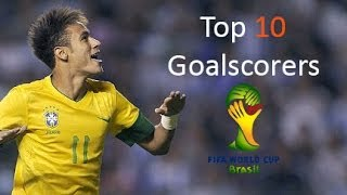 Top 10 Goalscorers to Watch in the 2014 FIFA World Cup
