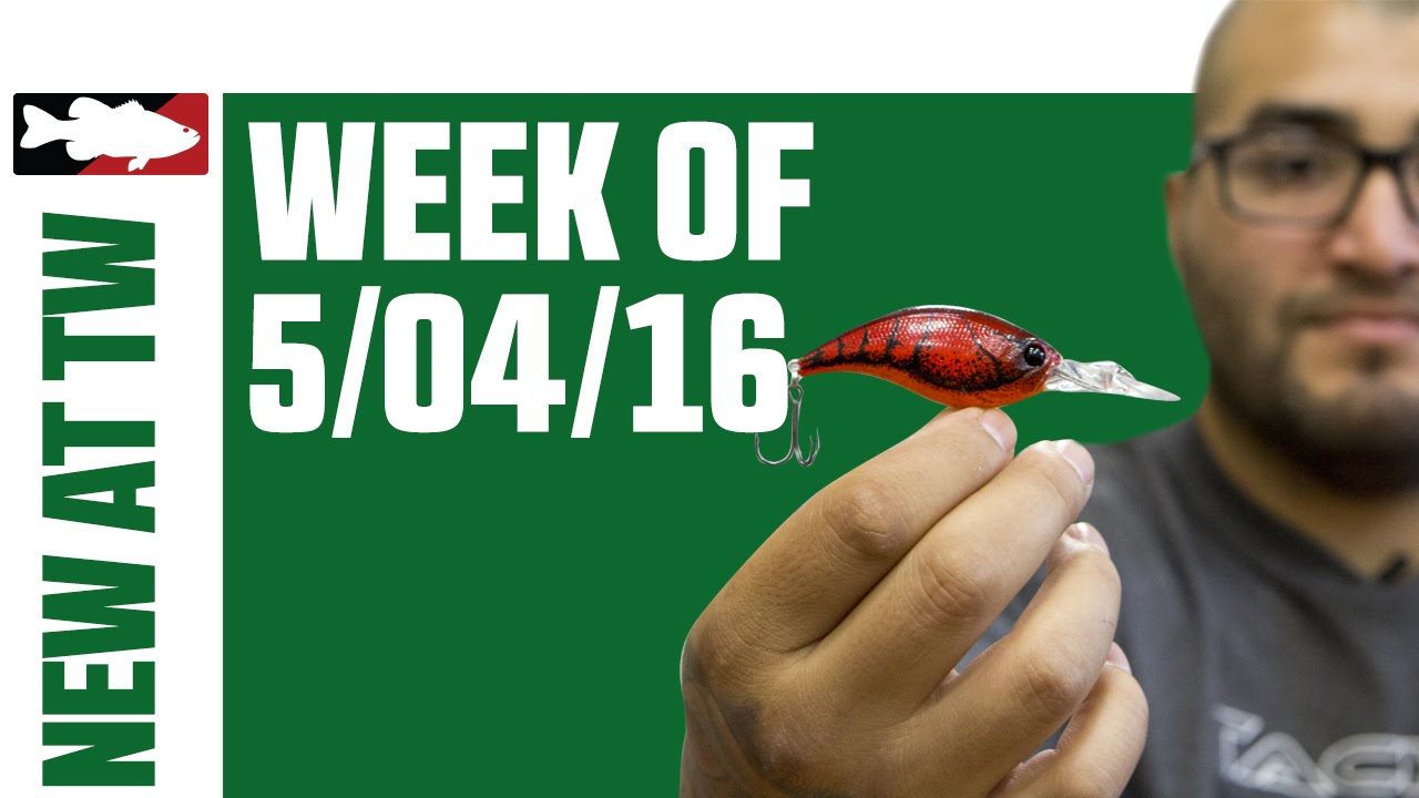 What s New At Tackle Warehouse w  Matt Solorio    5 4 16