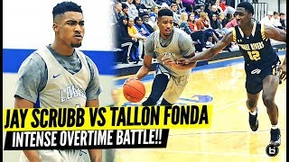 #1 JUCO GUARD JAY SCRUBB VS TALLON FONDA IN INTENSE OVERTIME BATTLE! GOES DOWN TO THE WIRE!
