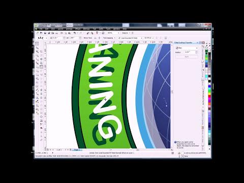 Using CorelDraw X5 to Create a Logo Design