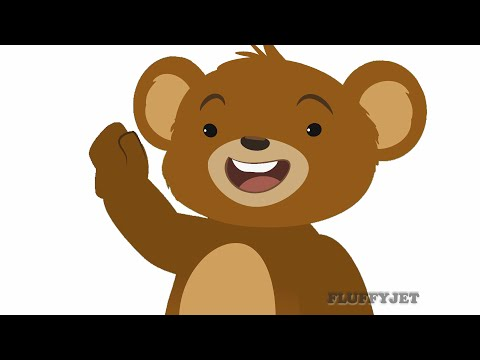 Teddy Bears Picnic Nursery Rhyme | Children's Songs by FluffyJetToys Kids Animation!