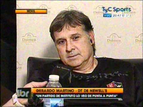Gerardo Martino en Líbero | TyC Sports | PartidosLeprosos.com.ar