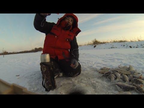 Крупный карась зимой | Здоровенные лапти на мормышку | Зимняя рыбалка 2016-2017