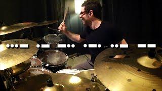 Vadrum Speaks Morse Code (Drum Video)