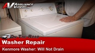 How to drain a washer that stopped working whirlpool for Kenmore washer motor reset