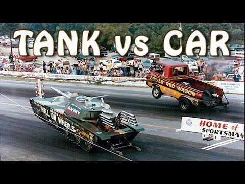 11 Unbelievable Crazy Drag Races in Automotive History