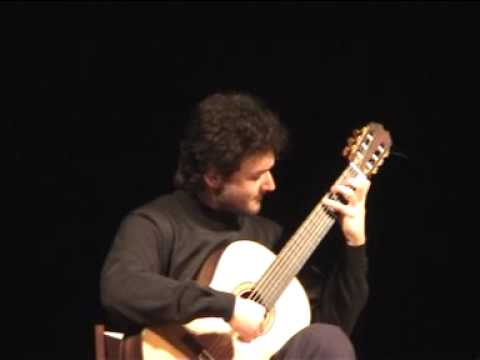 Antonio Mascolo plays Paganini , Brouwer , Mascolo . live concert excerpt