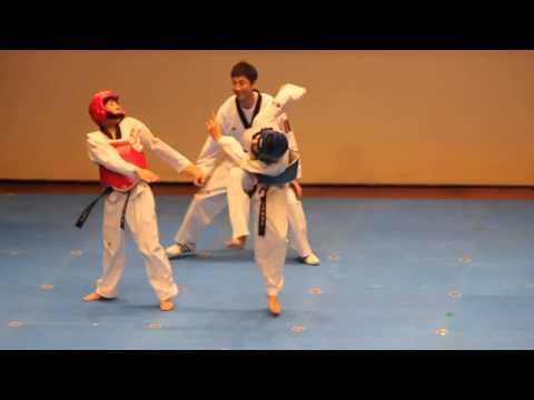 Taekwondo Match Turns Into a Dance Battle   Viral Video #1