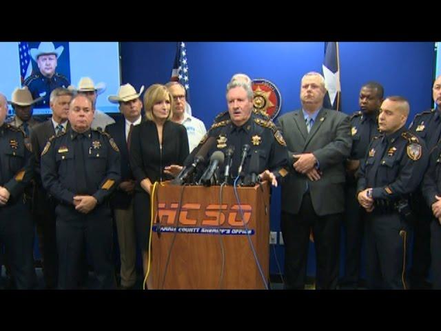 Texas authorities speak out on killing of deputy