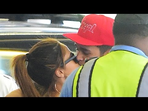 Becky G & Austin Mahone KISS at Airport - Dating Confirmed