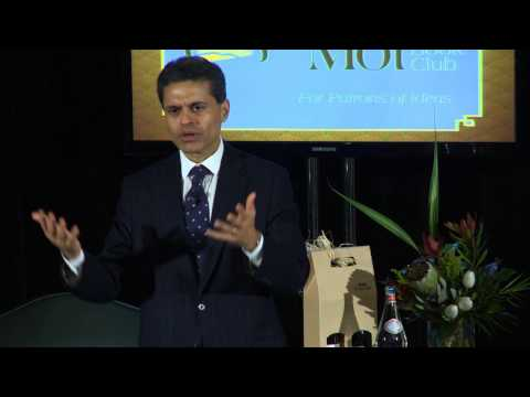 Fareed Zakaria Part 1, February 25, 2013 - Bon Mot Book Club - Vancouver