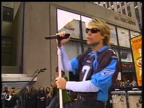 Bon Jovi  Its My Life  in Today Show 2004