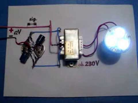 Power Inverter 12V to 230V, 220V, 120V, NEW circuit diagram, very easy, homemade, one unit.