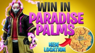How To Win Season 5 | Landing In The NEW Paradise Palms (Fortnite Battle Royale)