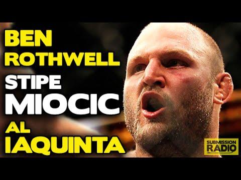 Submission Radio 21/6/15 Ben Rothwell, Stipe Miocic, Al Iaquinta + UFC Berlin & Bellator 138