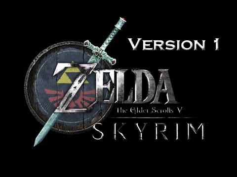 Elder Scrolls V Skyrim Mods - Legend of Zelda Character Link Mod Download Version 1