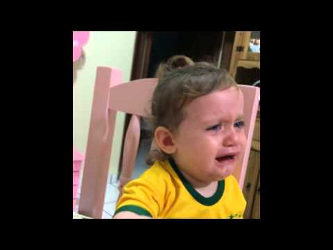 Baby crying after Neymar Horror Injury [World Cup 2014]