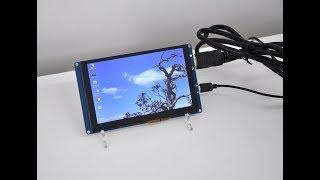 Raspberry Pi & Mini PCs 5-inch Touch Screen LCD Display