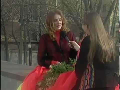 Маргарита Терехова в телеминиатюре Репортаж ни о чём. Идеальная женщина 1997г.