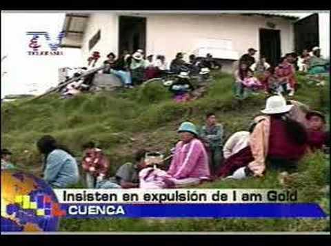 Insisten en expulsión de I am Gold Cuenca
