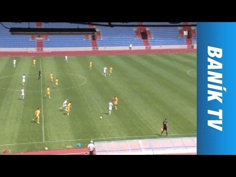 FC Baník Ostrava - FK Dukla Praha 6:2 Juniorská liga