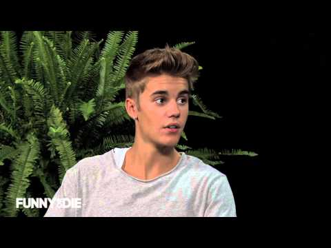 Between Two Ferns With Zach Galifianakis: Justin Bieber video