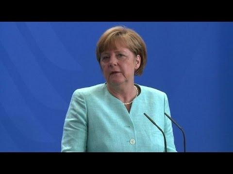 Merkel says unaware of new EU proposal on Greece
