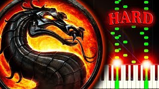 MORTAL KOMBAT THEME - Piano Tutorial