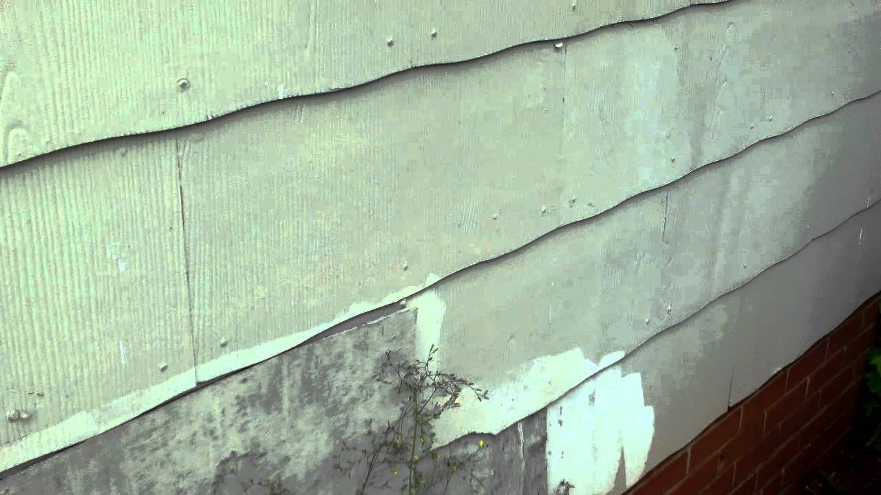 Charlotte Home Inspector Explains Asbestos Siding Youtube