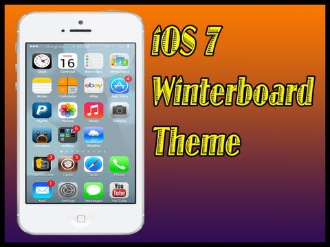 iOS 7 Theme[Part 1] Look On iOS 6 iPhone 5, iPhone 4S, 4 iPod