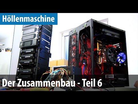 Höllenmaschine 6 - Der Zusammenbau #6 - ECO-Grafikkarte, -Netzteil, L...