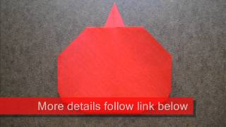 How To Make An Origami Apple