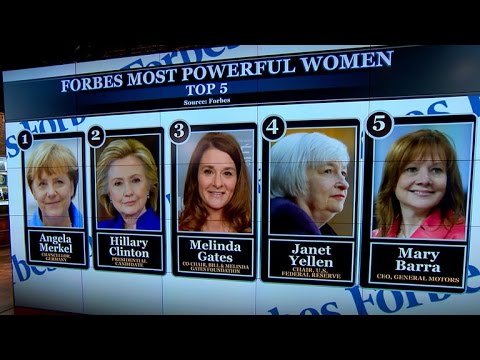 Forbes reveals 2015 list of most powerful women