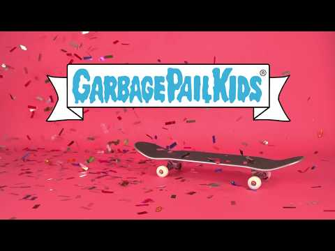 Santa Cruz Skateboards x Garbage Pail Kids