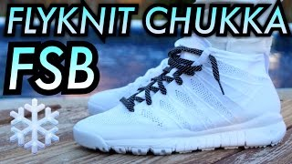 """Walter White"" Nike Flyknit Chukka FSB SP W/ On-Feet"