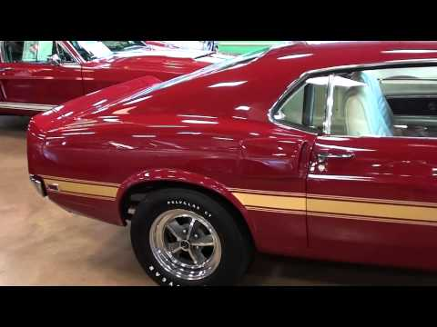 1969 Shelby GT500 Mustang 428 SCJ - Muscle Car