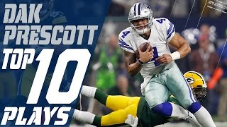 Dak Prescott's Top 10 Plays of the 2016 Season | Dallas Cowboys | NFL Highlights