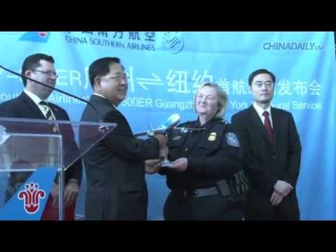China Southern's new NYC flight 'a gift'-A