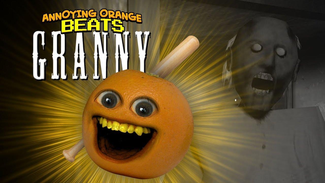 Annoying Orange Beats GRANNY!