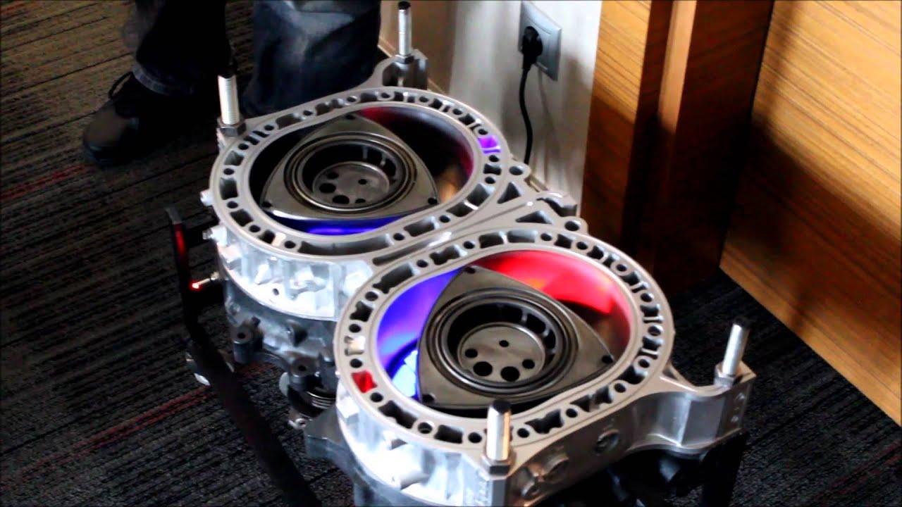 Mazda Wankel Motor - YouTube