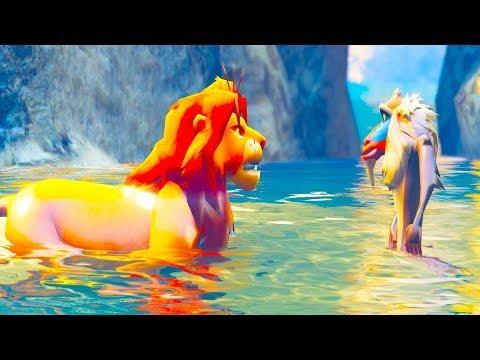 The Lion King FuUnY Parody - Simba And Rafiki Meets Mufasa