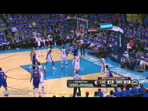 Blake Griffin vs Kevin Durant Full Duel Highlights 2014 West Semis G1 - Clippers at Thunder