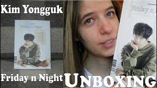 Unboxing - Kim Yongguk   Longguo - Friday n Night - 1st mini album A ver.