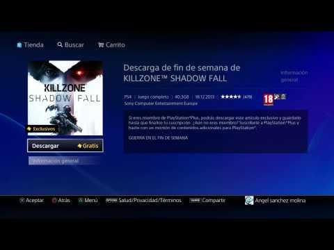 Prueba gratis Killzone SF con PSN plus.