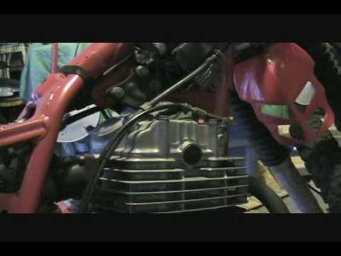 Motorcycle Electronic Ignition Troubleshooting Honda XL500R