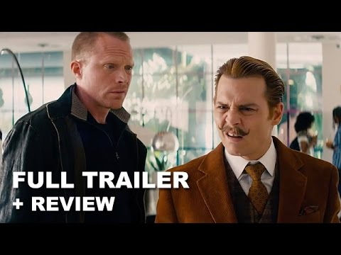 Mortdecai Official Trailer + Trailer Review - Johnny Depp 2015 : Beyond The Trailer