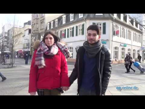 Valentinstag: Umfrage in Offenbach - YouTube