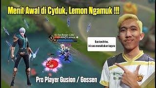 Menit Awal Di Gank Lemon Langsung Menunjukan Skill Asli Gossen  Gameplay Gusion By Rrq Lemon